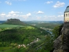 Výhled z pevnosti Königstein